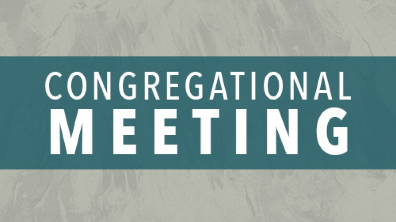 Congregational Annual Meeting