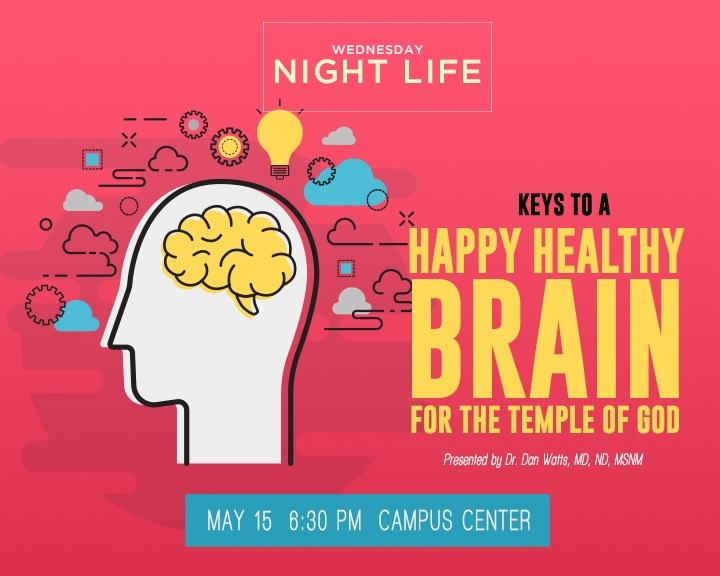 Keys to a Happy Healthy Brain for the Kingdom of God