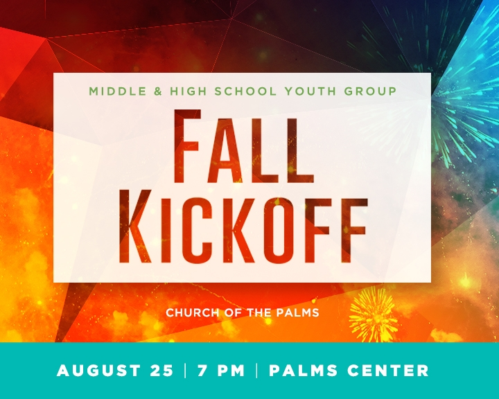 Youth Group Fall Kick-Off